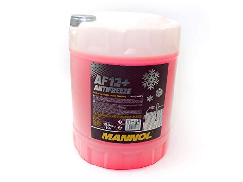 Mannol Kühlerfrostschutz AF12+ - 1x10 Liter rosa bis -40°C für G12+ Frostschutz