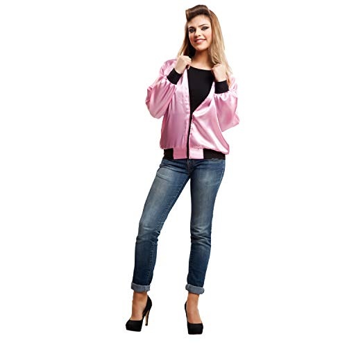 My Other Me-Damen Pink Lady für Kostüm, M-L (viving Costumes 203358) (Sandy Grease Kostüm Mädchen)