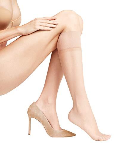 FALKE Damen transparente Feinkniestrümpfe Shelina 12 Denier Makeup für die Beine Einfarbig 1 Paar