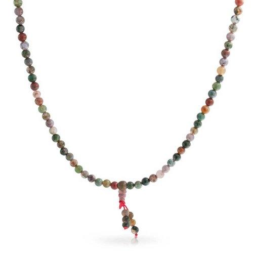 Bling Jewelry Fancy Jaspis Gebet Perle Halskette Wrap Bracelet 28 Zoll (Wrap Entspannung)