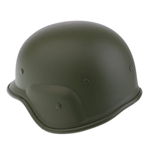 FLAMEER Taktischer Militärischer Paintball Helm M88 Outdoor Sports Hunting Safe Headwear - Grün