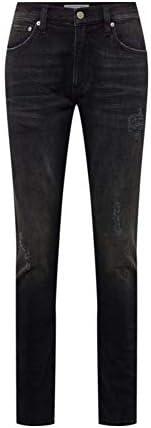 Calvin Klein Jeans Men's CKJ 058 SLIM TAPER Denim Pants, Blue (Ba117 Black Dstr Ck Varsity 911), Size: L32