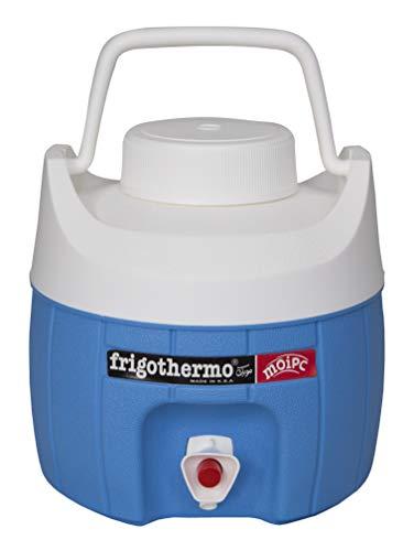 frigothermo Kühlboxen Kühlbox mit Zapfhahn und Tragegriff Getränkespender Getränkebehälter 5/8/12/18/27/33 Liter (5 Liter - rund)