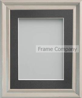 Frame Company Cambell Range Grey Picture Photo Frame with Grey