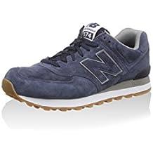 New Balance NBML574FSB Zapatillas, Unisex - Azul, 37½