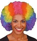 fitTek Per¨¹cke Wig Wigs Zweithaar f¨¹r Erwachsene Cosplay Halloween Bunt Einheitsgr??e