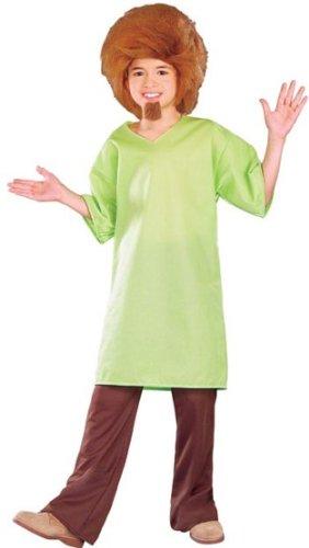 Original Lizenz Shaggykostüm Kostüm Shaggy Scooby-Doo Scooby Doo für Kinder Kinderkostüm Mystery Inc. Gr. 98/104, 116/122, 134/140, Größe:134/140