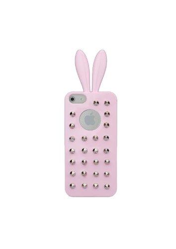 Rabito RB7000B Premium Coque Housse Etui pour Smartphone Téléphone portable Apple iPhone 5/5S Or Rose Clair