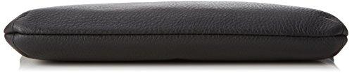 Joop! Nature Grain Nana Sac à main - Pochette cuir 27 cm Black (Noir)