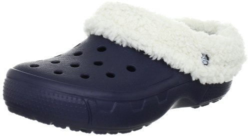 Crocs, Mammoth Full Collar Sabot U, Zoccoli e sabot, Unisex - adulto, Blu (NAOT), 41-42