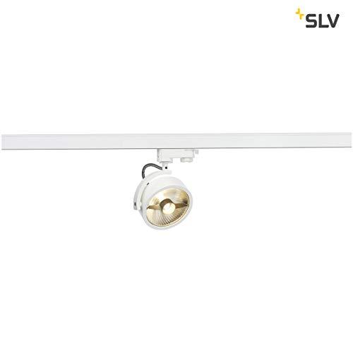 SLV KALU TRACK Spot für Hochvolt-Stromschiene 3Phasen, Aluminium, GU10, weiß