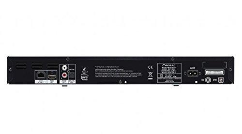 Pioneer bdp-100–Blu-ray Laufwerk (Bd, CD, DVD, 1080p Video, Audio Blu-ray, Blu-ray, Blu-ray, Schwarz, ALAC, FLAC, WAV)