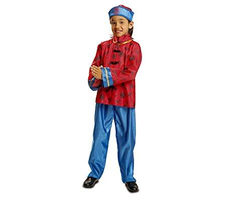 My Other Me Disfraz de Chino, talla 7-9 años (Viving Costumes MOM01041)