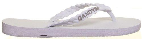 Gandys , Sandales pour femme Blanc - blanc