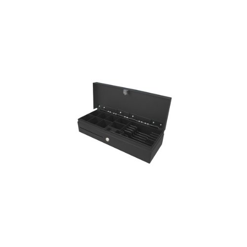 Phoenix Technologies PHCAJONNEGROVERTI - Cajón portamonedas vertical automático, negro