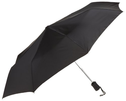 compact-lightweight-travel-umbrella-opens-closes-automatically-black-one-size