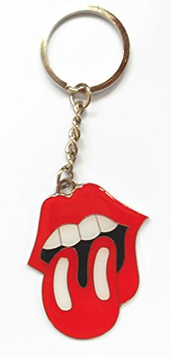 solid-metal-keyring-rolling-stones-rock-roll-lips-tongue