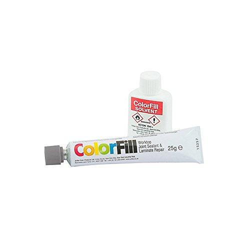 Unika Colorfill Dichtstoff/Reparatur und Lösungsmittel für Verbindungen von Arbeitsplatten,...
