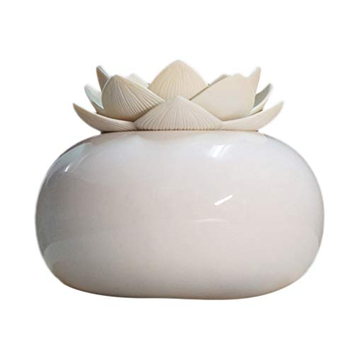 Huhu833 Aroma Diffuser 200ml Hohe Kapazität Lotus Luftbefeuchter Ultraschall Vernebler, Ultra Leise Diffuser Öle Diffusor Humidifier für SPA, Yoga, Schlafzimmer, Wohnzimmer usw. (E)
