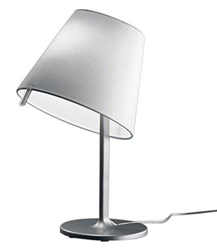 Lampe de table / chevet Melampo Notte Artemide - Gris aluminium