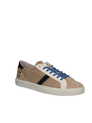 D.A.T.E. NEWMAN PERFORATED SAND SNEAKERS UOMO Sand