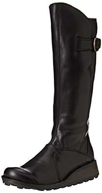 Fly London Mol Women's Boots - Black, 3 UK