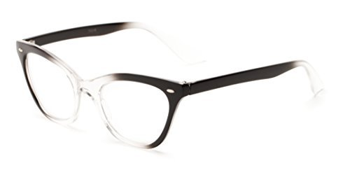 readerscom-the-laura-150-black-clear-fade-womens-cat-eye-reading-glasses-by-readers