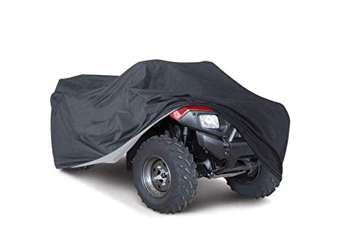 KKmoon Cubierta Funda para Quad de Bike ATV Impermeable Transpirable Anti-polvo Anti-UV Anti-calor Protector de Talla 2.2m Larga(xxl)