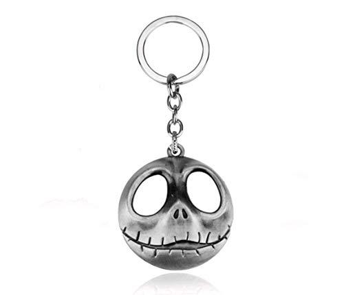 lptraum Vor Weihnachten Jack Skull Kopf Skellington Schlüsselanhänger Schlüsselanhänger Für Taschen Schlüsselanhänger ()