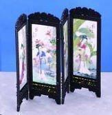 Accessori per casa delle bambole Pannello Camerino per Vestizione Boudoir Fantasia Donne