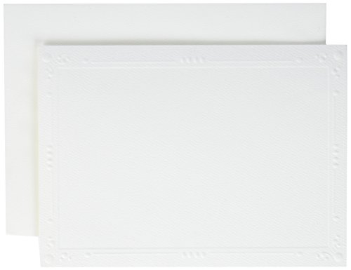 strathmore-cards-and-envelopes-5x7-50-pkg-white-photomount