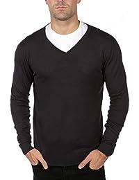 3f03864bcd3e Blu Cherry Men s V Neck Premium Cotton Knitted Lightweight Jumper Pullover