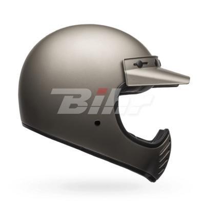 BELL Motorradhelm, Motocross-Helm Moto 3, für Erwachsene, Farbe: Independent Matt Titan, Größe L