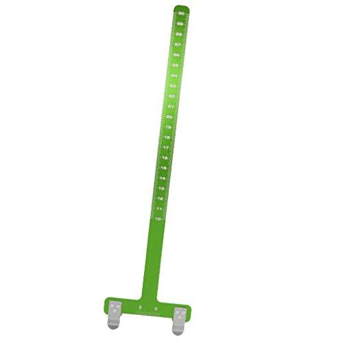 IPOTCH Bogen Sehnenmaßstab - Bogenschießen Bogensport Zubehör - Grün