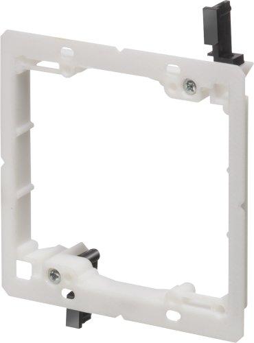 arlington-industries-lv2lp-2-gang-low-profile-low-voltage-mounting-bracket-non-metallic-5-pack