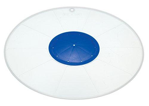 """KitchenCraft Multi-Purpose Microwave Splatter Screen/Mixing Bowl Splash Guard, 30 cm (12"""")"""