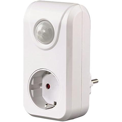 Xavax - Sensor de movimiento por infrarrojos pasivos especial para zonas oscuras