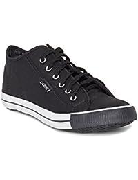 Duke Men's Black Coloured Canvas Canvas Shoes 6