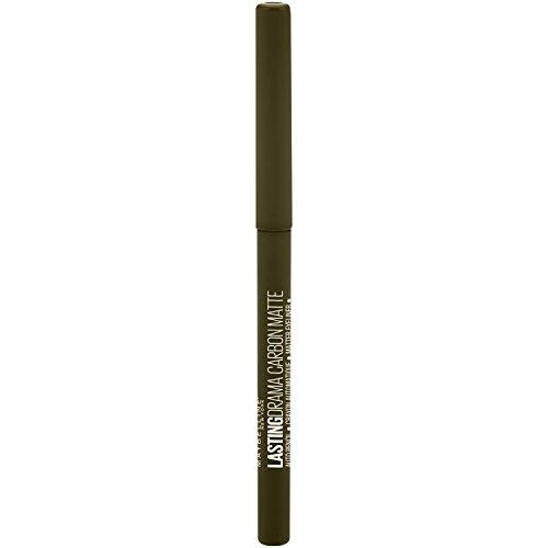 Maybelline New York Lasting Drama 24H Carbon Matte Gel-Eyeliner Nr. 860 Jade Olive, 1 g