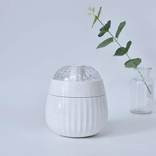 Xianya-Ultrasuoni-LED-Umidificatore-colorato-Aroma-Profumo-Auto-purificatore-dAria-con-proiettore-Magico-Compagno-per-casaUfficioVeicolo-e-Altro