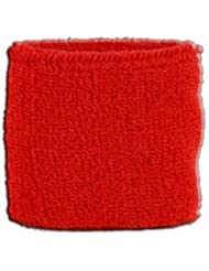 Digni® Poignet éponge avec drapeau Unicolore Rouge
