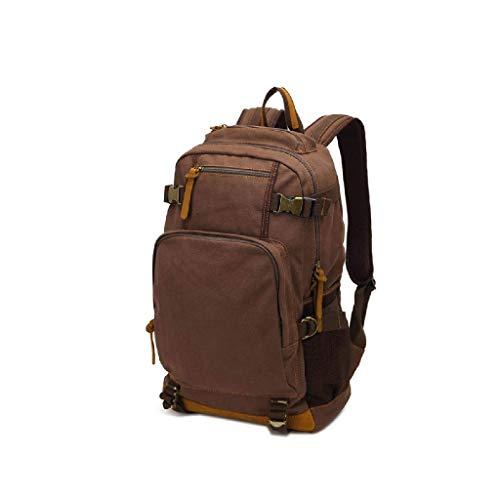 Xbtmy backpack- zaino grande espandibile militare dello zaino di corsa tattico zaino trekking impermeabile for gli uomini (color : coffee)