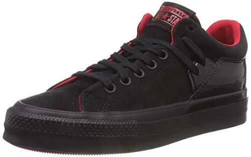 Converse Damen Chuck Taylor All Star Becca Sneaker, Schwarz Black/Cherry Red 001, 38 EU