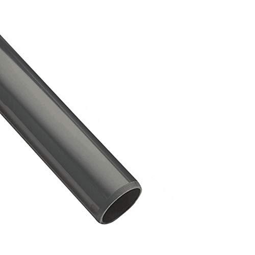 PVC Rohr 32 sowie Rohrverbinder Winkel Kniestück Muffen T-Stück Kappen (1m Rohr-Stück Ø32mm)
