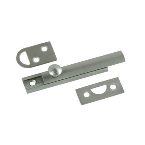 Belwith Products 1849-SN Satin Nickel Finish Slide Surface Door Bolt (Solid Brass), 3-Inch by BELWITH PRODUCTS LLC (English Manual) - Sn Satin Nickel