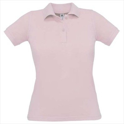 B&C - Polo - Col Polo - Manches Courtes - Opaque - Femme Rose - Pink - Pink Sixties