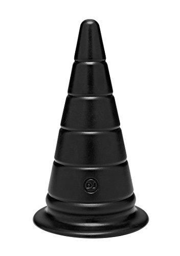 Doc Johnson - TitanMen - Anus Strecker Analplug - 6 Zoll - Schwarz