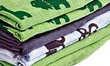 PIPPI 8er Pack Mullwindeln Spucktücher grün grau - 2
