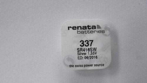 Renata Watch Battery 337 (SR16SW)