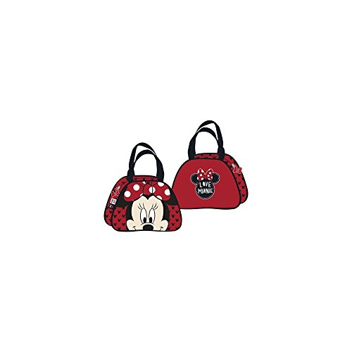 Disney Handtasche Minnie rot 28,5 x 20,5 x 11 cms (Netbook Disney)